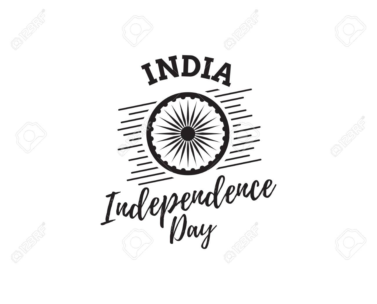 Independence day india clipart black and white jpg download Independence Day Clipart Black And White | salaharness.org jpg download