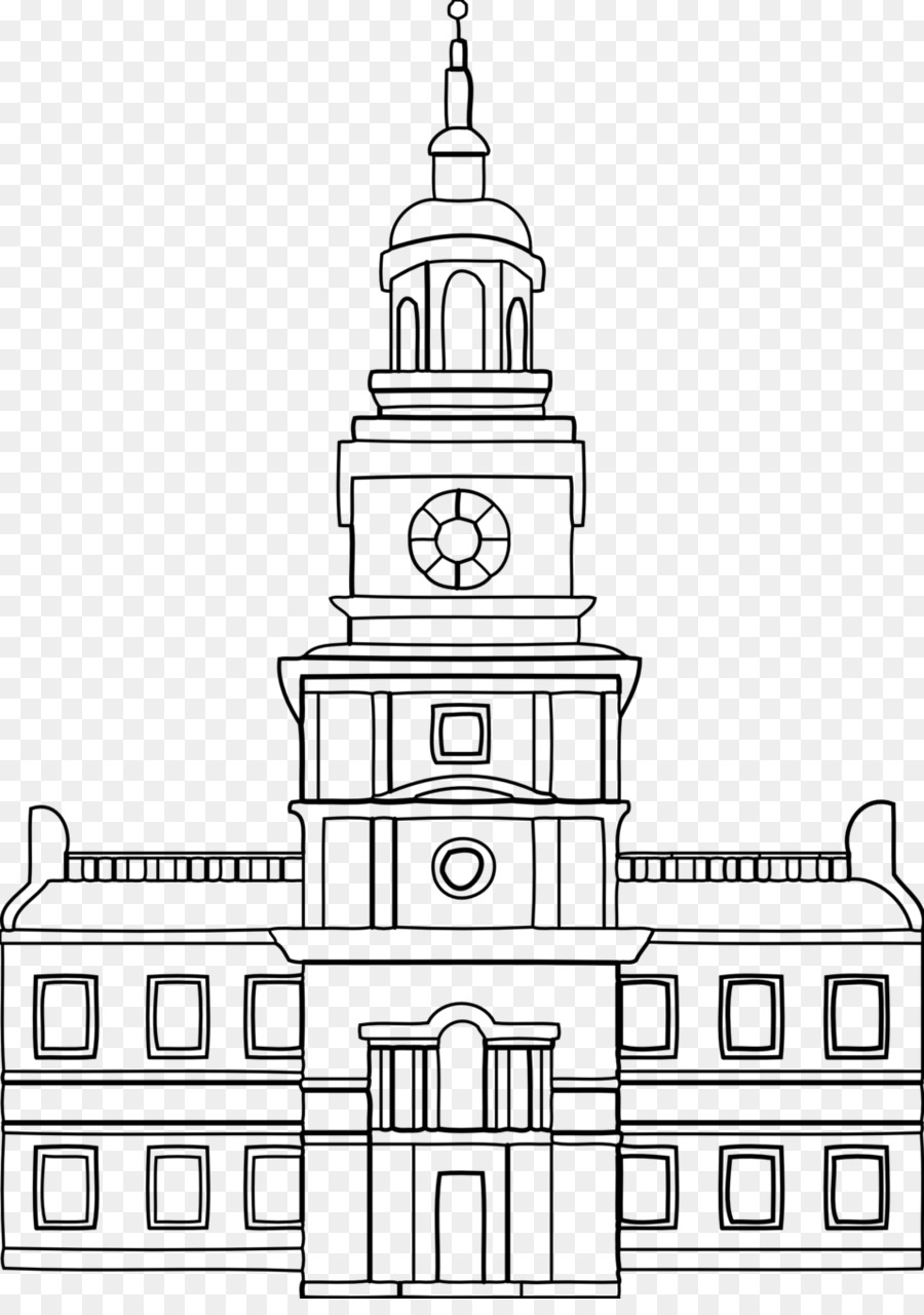 Independence hall clipart vector library download Park Cartoon png download - 958*1345 - Free Transparent ... vector library download