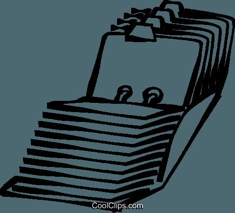 Index clipart jpg freeuse stock index card catalog Royalty Free Vector Clip Art illustration ... jpg freeuse stock