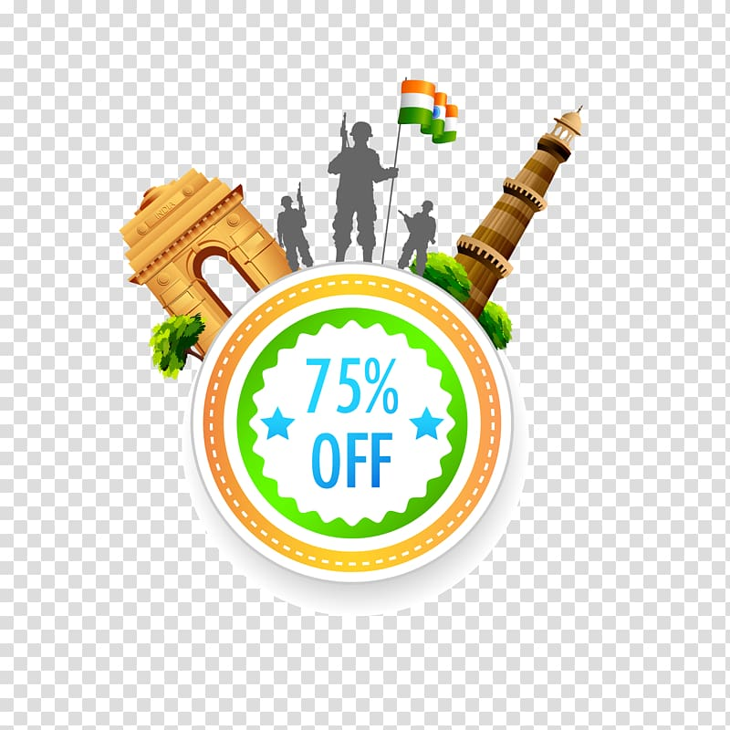 India independence day clipart graphic download Military holding flag of India 75% off illustration, Indian ... graphic download