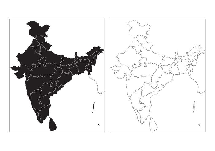India map with cities clipart black and white black and white stock State Map of India Vector - Download Free Vectors, Clipart ... black and white stock