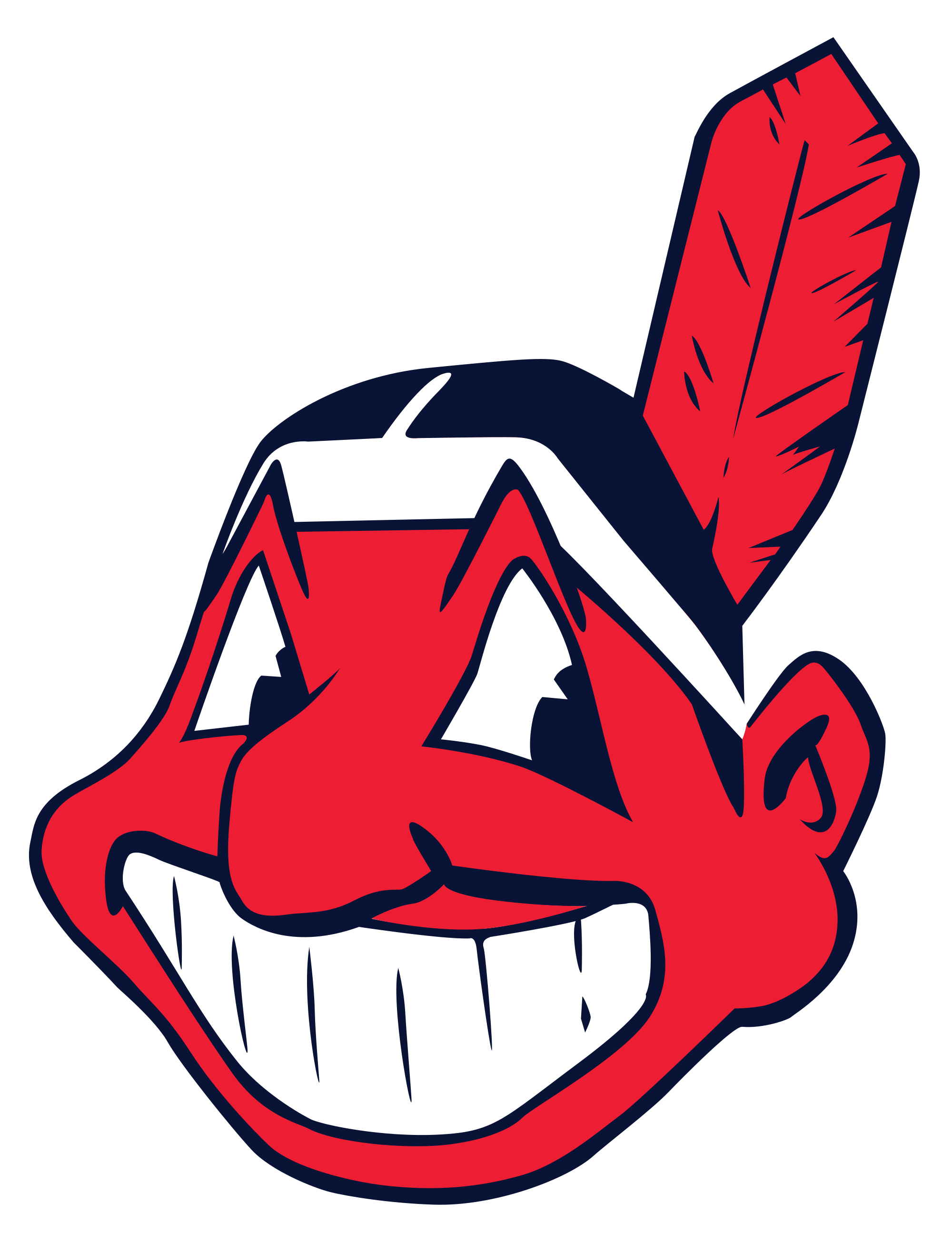 Indians baseball clipart banner freeuse library Cleveland Indians Indian transparent PNG - StickPNG banner freeuse library