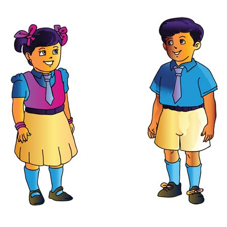Indian boy and girl clipart jpg black and white download Indian kids clipart clipartfest - Cliparting.com jpg black and white download