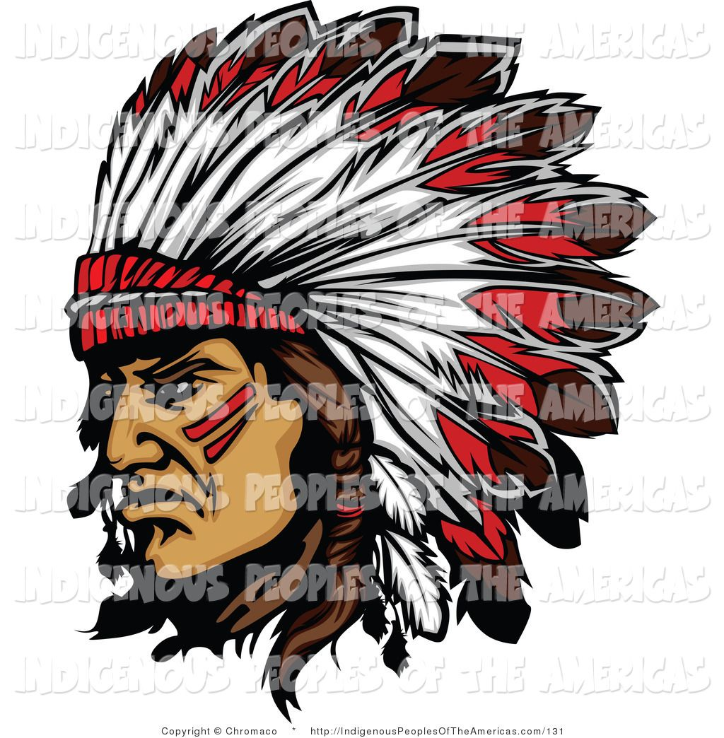 Indian chief head clipart svg royalty free clipart-of-a-native-american-indian-chief-and-feathered ... svg royalty free
