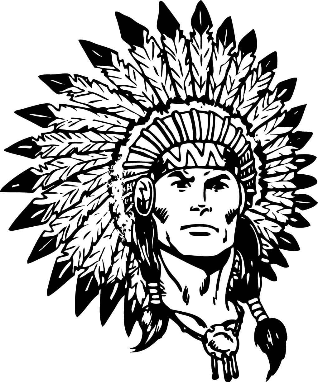 Indian chief head clipart clipart free Indian Head Clipart - Clipart Junction clipart free