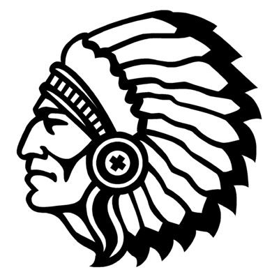 Indian chief head clipart clipart stock Pin by Charlee Maclin on indian mascot schools | Silhouette ... clipart stock