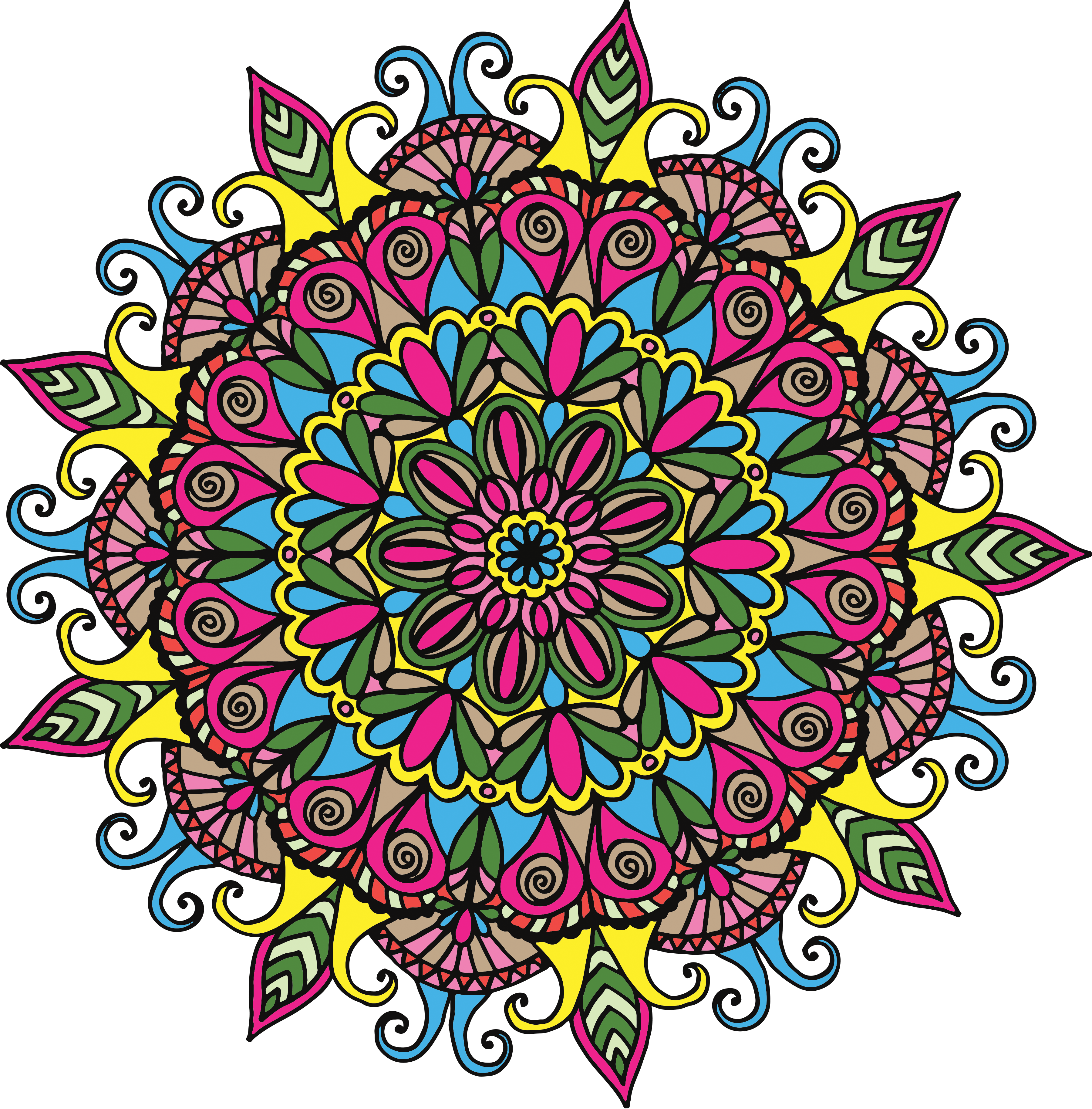 Mandala Clipart Free at GetDrawings.com | Free for personal use ... jpg royalty free download