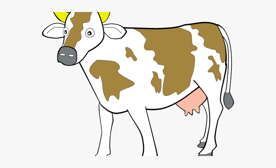 Indian cow clipart image banner black and white Cattle Clipart Indian Cow - Clip Art Of Cow , Transparent Cartoon ... banner black and white