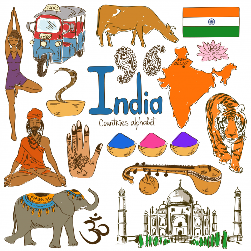 Indian culture clipart library India Culture Map | Desi Decor | India culture, Geography for kids ... library