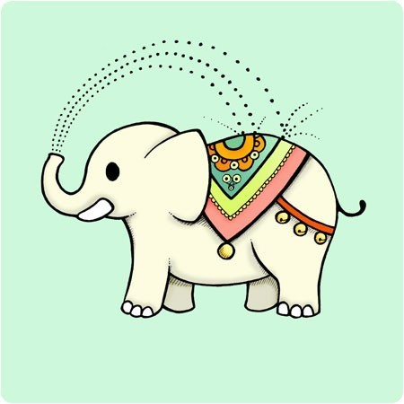 Indian elephant clipart graphic library Free Indian Elephant Clipart Image - Clip Art Library graphic library
