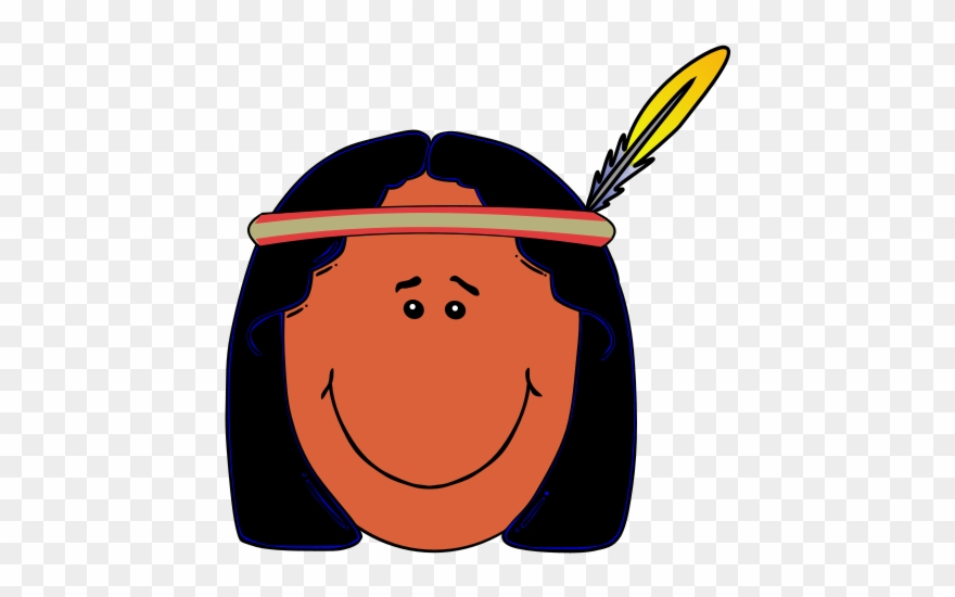 Indian face clipart clip art freeuse Free Clipart Native American People - Indian Face Clipart - Png ... clip art freeuse