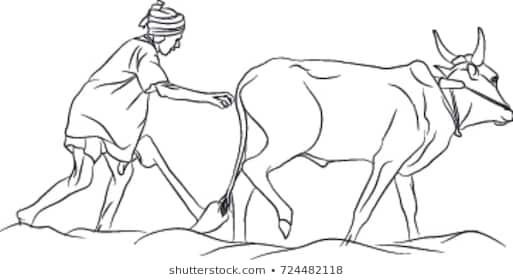 Indian farmer clipart black and white image free library Indian farmer clipart black and white 5 » Clipart Portal image free library