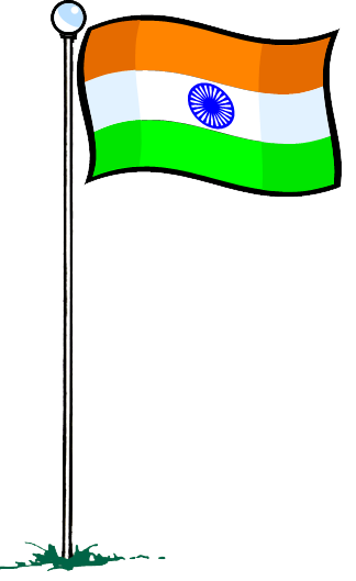 Flag clipart india jpg black and white stock Download INDIAN FLAG Free PNG transparent image and clipart jpg black and white stock