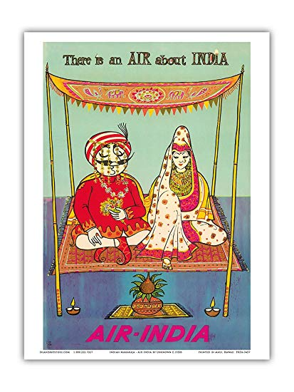 Indian golden age clipart clip transparent download Amazon.com: There is an AIR about INDIA - Indian Maharaja - Air ... clip transparent download