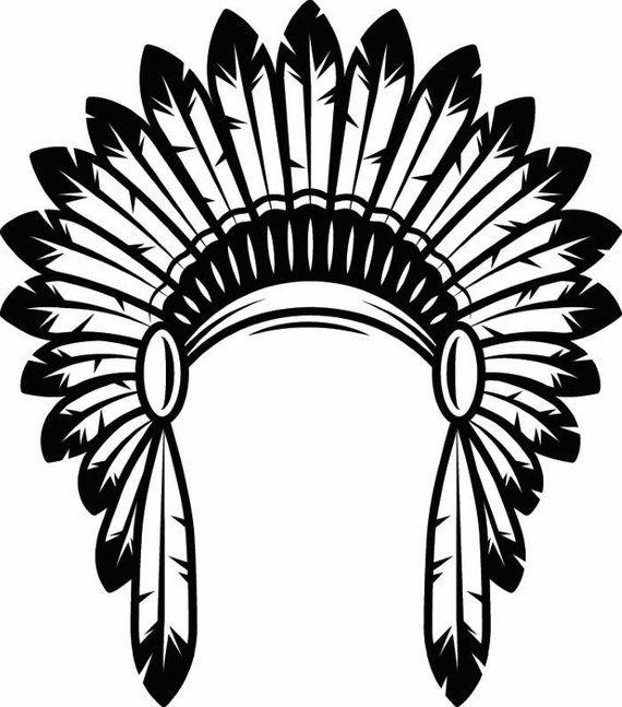 Indian headband clipart clip art transparent library Indian Headdress #1 Native American Head Dress Tribe Chief Costume ... clip art transparent library