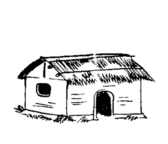 Indian hut clipart image transparent stock File:Indian Election Symbol Hut 2.png - Wikimedia Commons image transparent stock