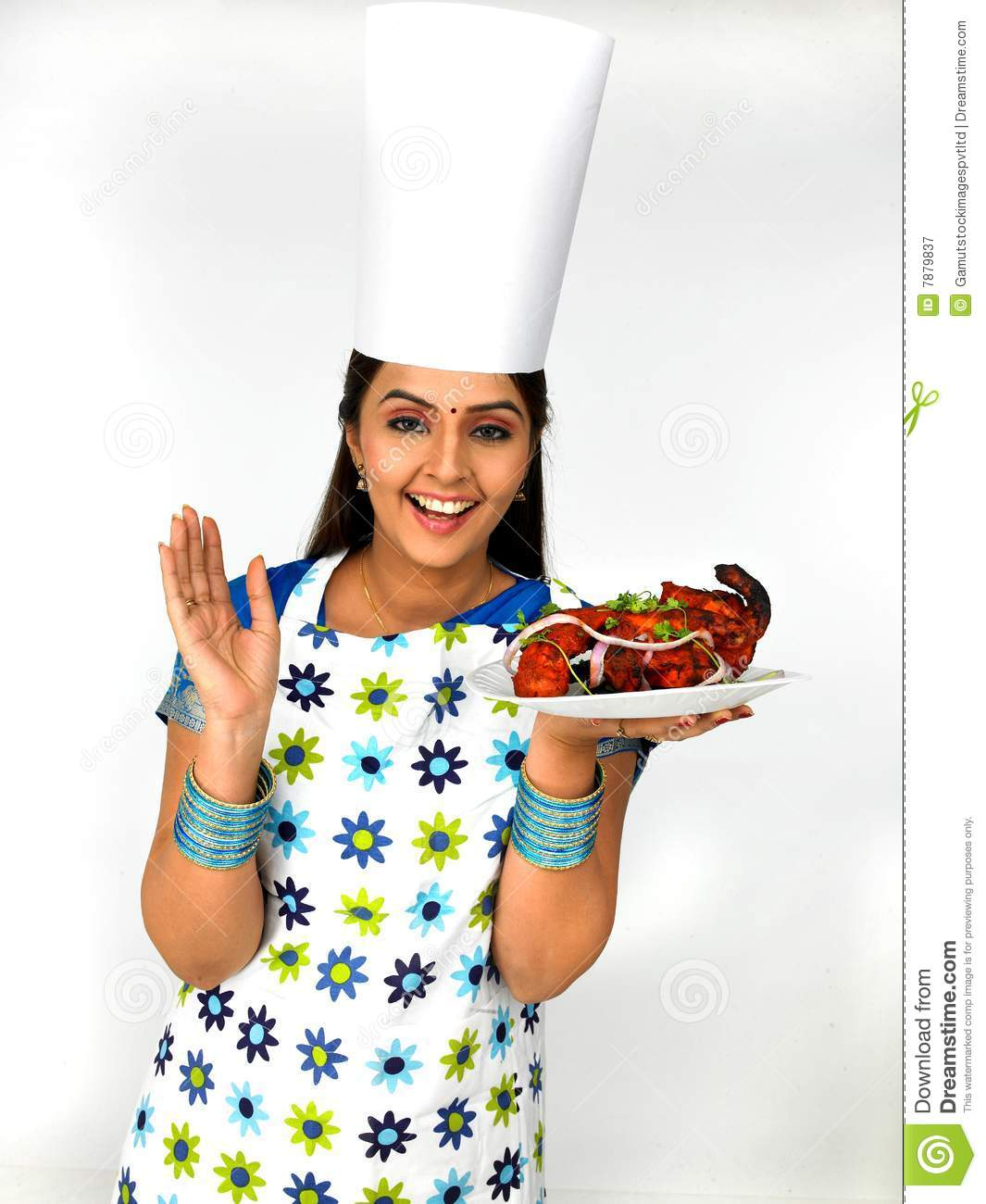 Indian lady chef clipart jpg freeuse library Indian lady chef clipart - ClipartFest jpg freeuse library