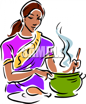 Indian lady chef clipart png royalty free cooking_indian woman | Waiting to Be png royalty free