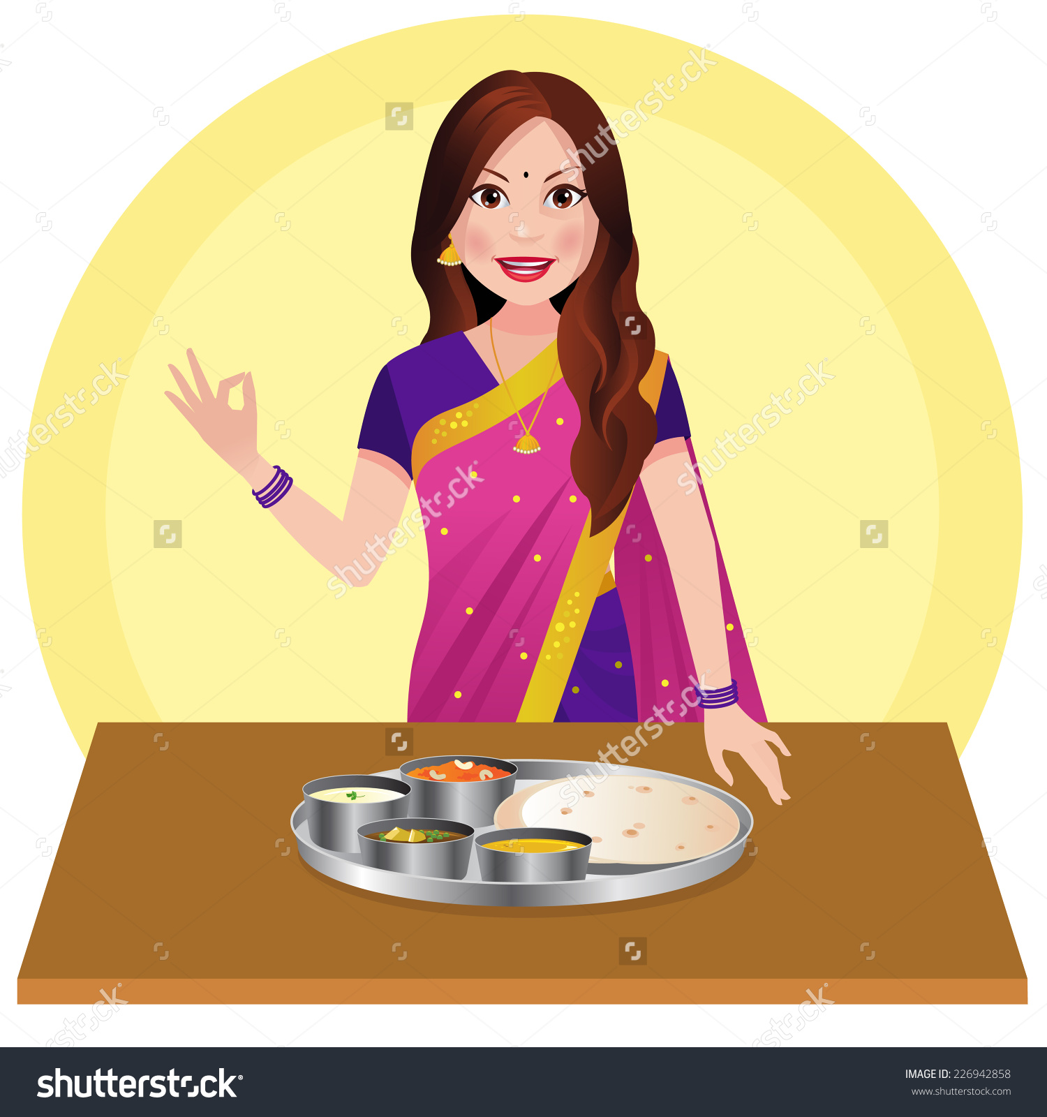 Indian lady chef clipart png free download Indian lady chef clipart - ClipartFest png free download