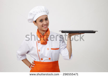 Indian lady chef clipart vector stock Indian lady chef clipart - ClipartFox vector stock