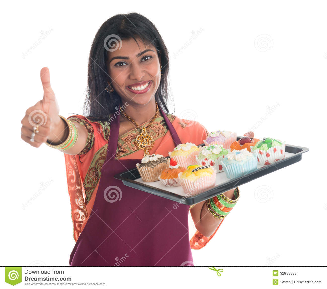 Indian lady chef clipart picture black and white library Indian Woman Cooking Stock Photos, Images, & Pictures - 734 Images picture black and white library