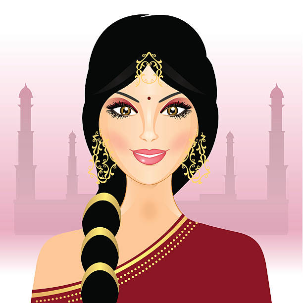 Indian lady clipart picture stock Traditional indian lady clipart 1 » Clipart Station picture stock