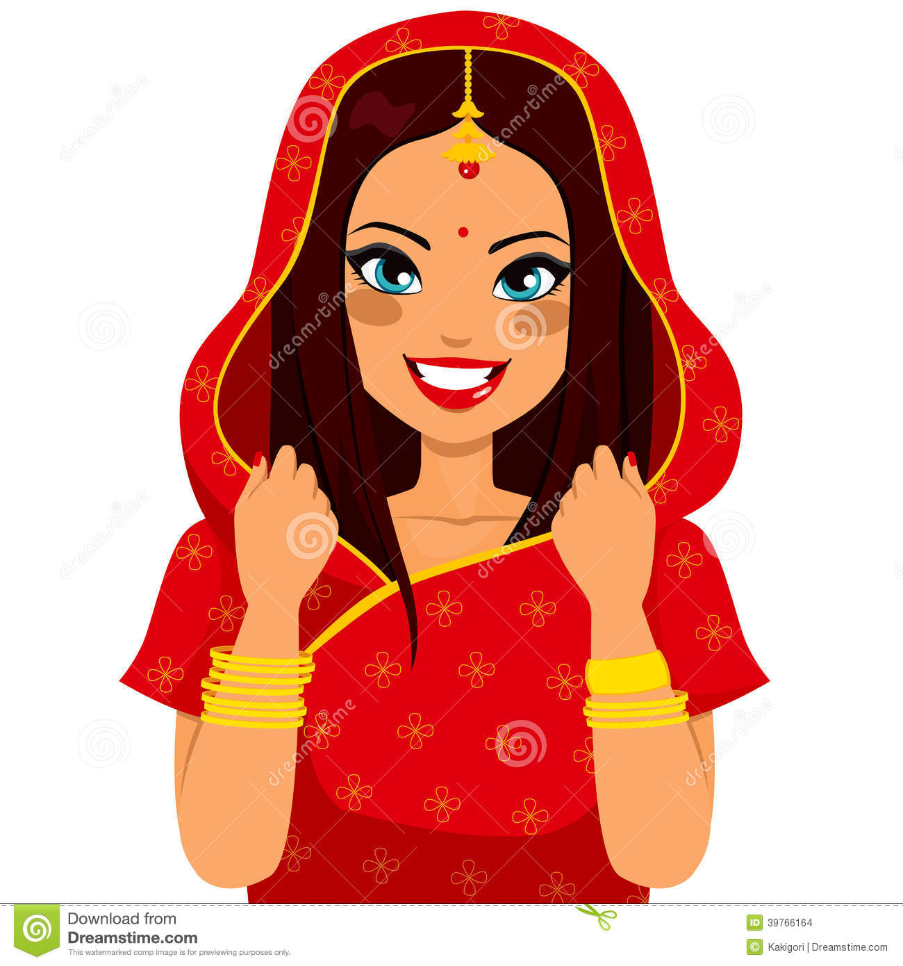 Indian lady clipart clipart free stock Traditional indian lady clipart 5 » Clipart Station clipart free stock