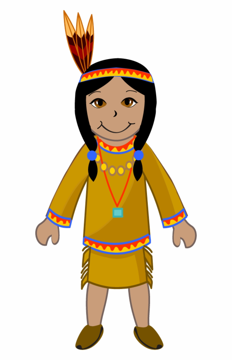 Indian maiden clipart free library Native Americans Png Transparent Background - Indian Girl Clip Art ... free library