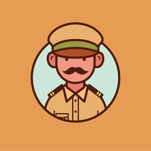 Indian police clipart jpg royalty free stock Indian Police Officer - Download Free Vectors, Clipart Graphics ... jpg royalty free stock