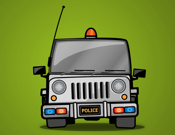 Indian police jeep clipart png library download Indian police jeep clipart - ClipartFest png library download