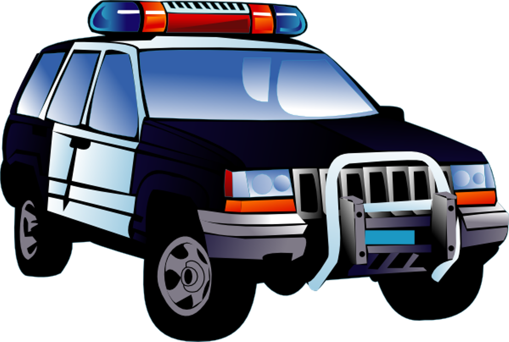 Car speeding away clipart graphic transparent library Police Car Clipart - ClipArt Best graphic transparent library
