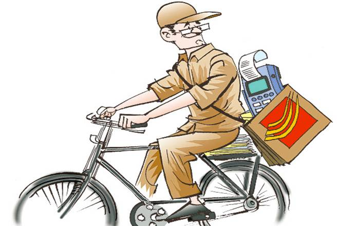 Indian postman clipart graphic freeuse library Bad news! India Post is now top loss-maker PSU, pips BSNL & Air ... graphic freeuse library