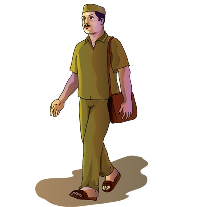 Indian postman clipart clip download CLIPART INDIA : HOME clip download