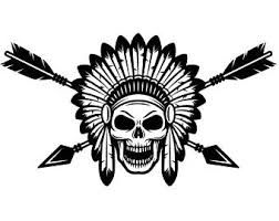 Indian skull clipart clip freeuse Image result for native american headdress clipart | j.guest bedroom ... clip freeuse
