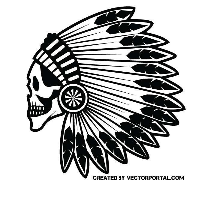 Indian skull clipart clip freeuse stock Indian skull clipart 1 » Clipart Portal clip freeuse stock