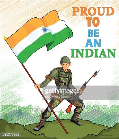 Indian soldier clipart jpg freeuse library Indian Army Showing Victory of India premium clipart - ClipartLogo.com jpg freeuse library