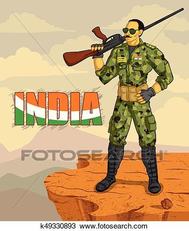 Indian soldier clipart png transparent library Indian army clipart 4 » Clipart Portal png transparent library