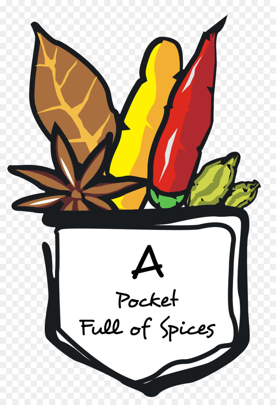 Indian spices clipart image black and white download Indian Food clipart - Food, Flower, Leaf, transparent clip art image black and white download