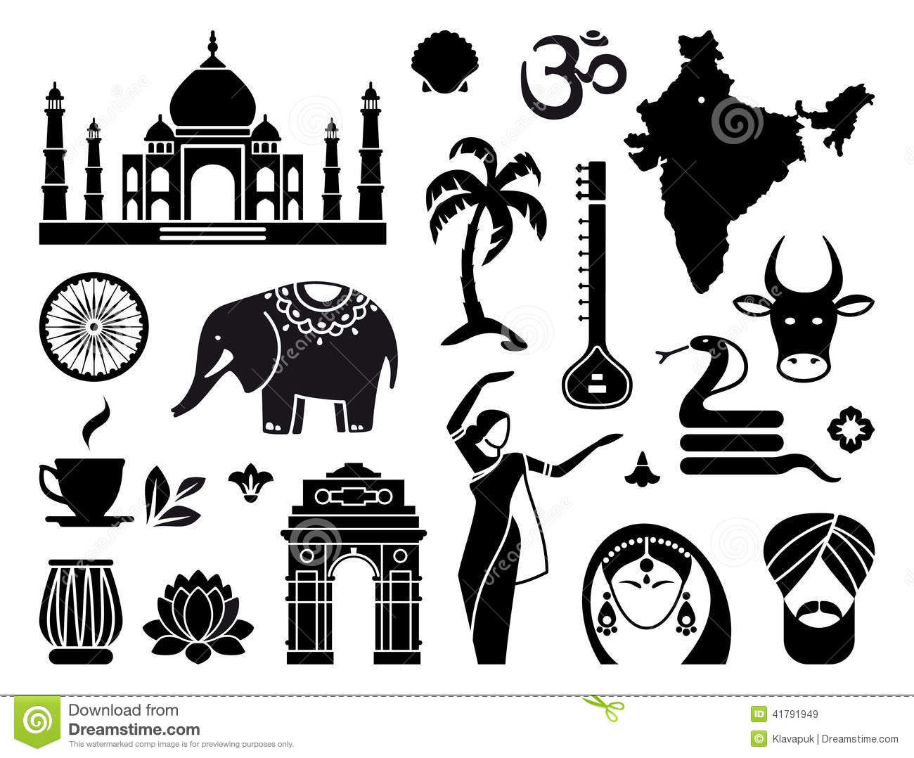 Indian traditional clipart jpg free stock Indian traditional clipart - ClipartFest jpg free stock