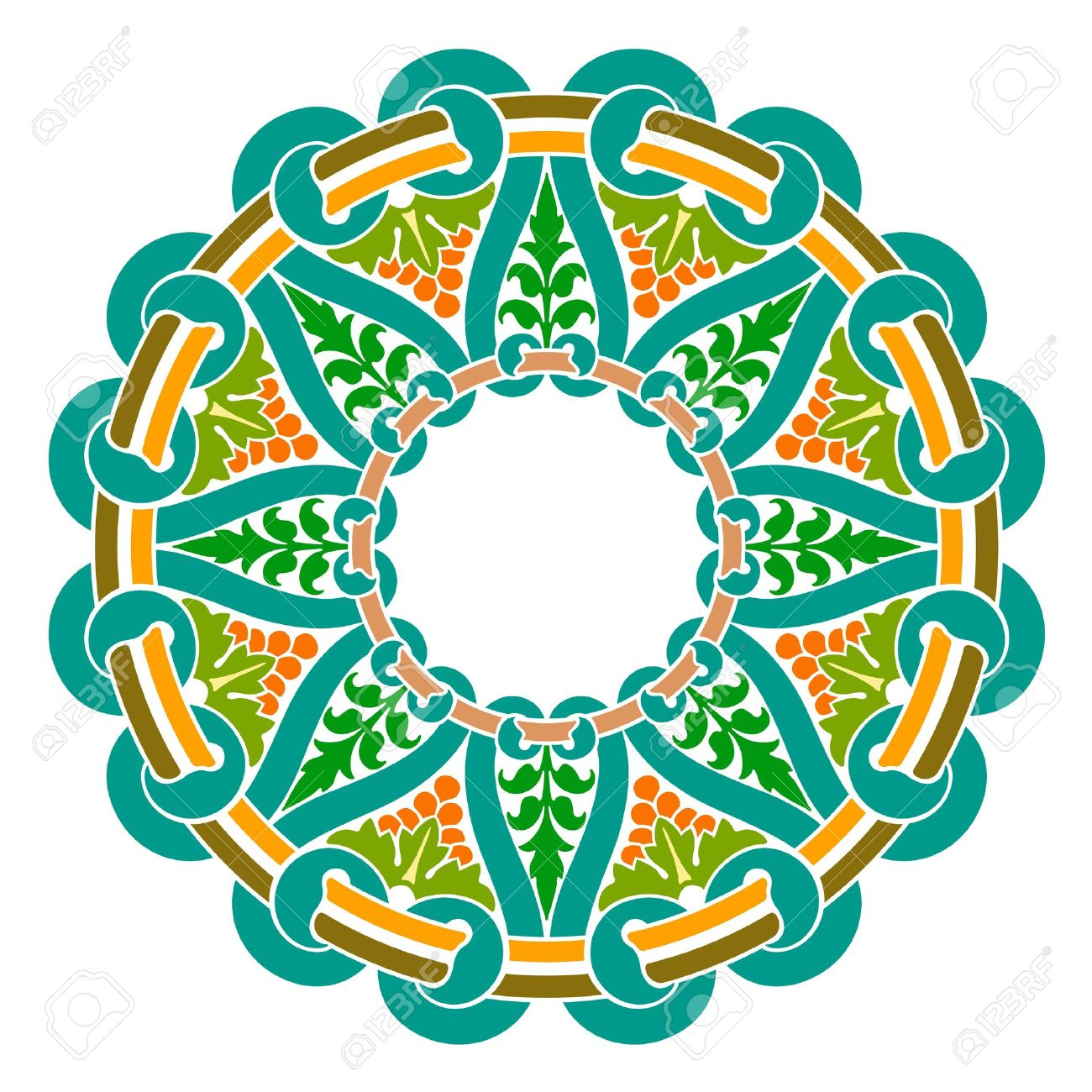 Indian traditional clipart clip art transparent stock Traditional Persian-Islamic-Arabic-Turkish-Indian Pattern Royalty ... clip art transparent stock