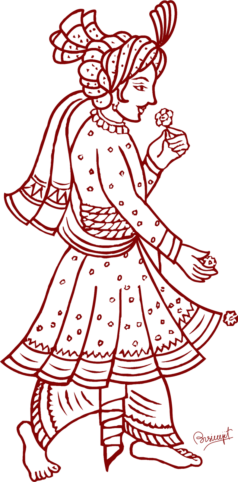Indian traditional clipart png transparent Indian traditional clipart - ClipartFest png transparent