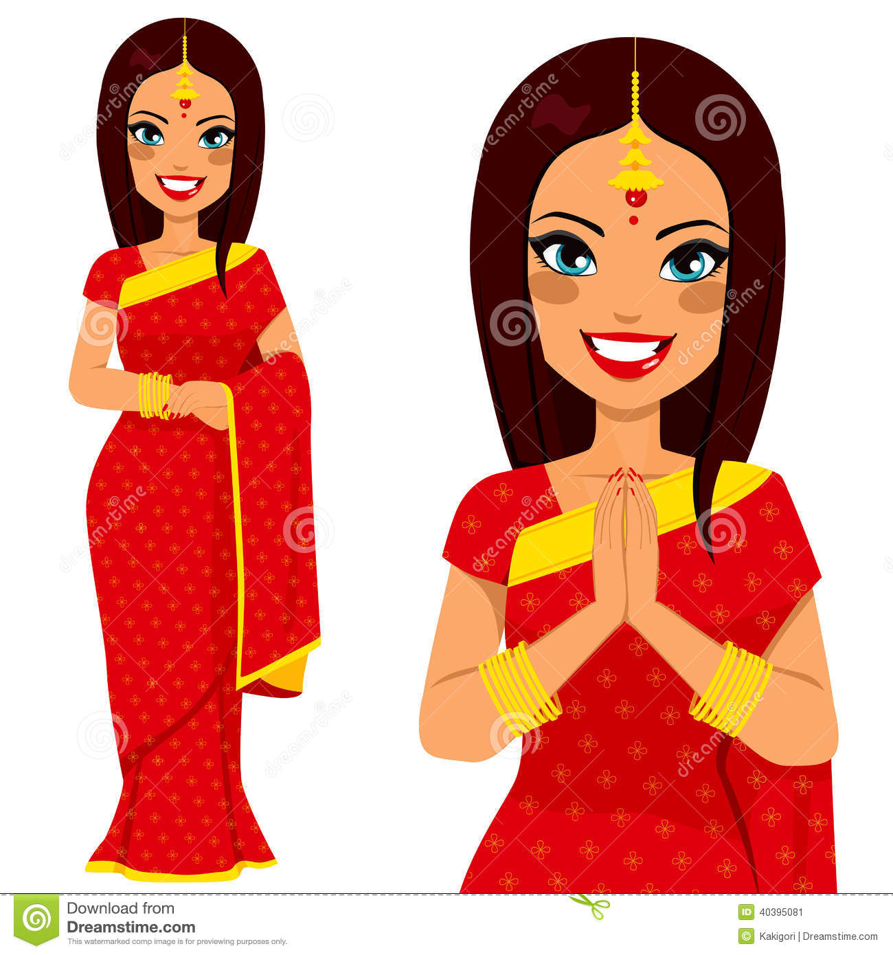 Indian traditional clipart image free library Indian woman clipart praying - ClipartFox image free library