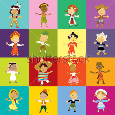 Indian traditional dress clipart image library stock Indian traditional dresses of different states clipart - ClipartFest image library stock