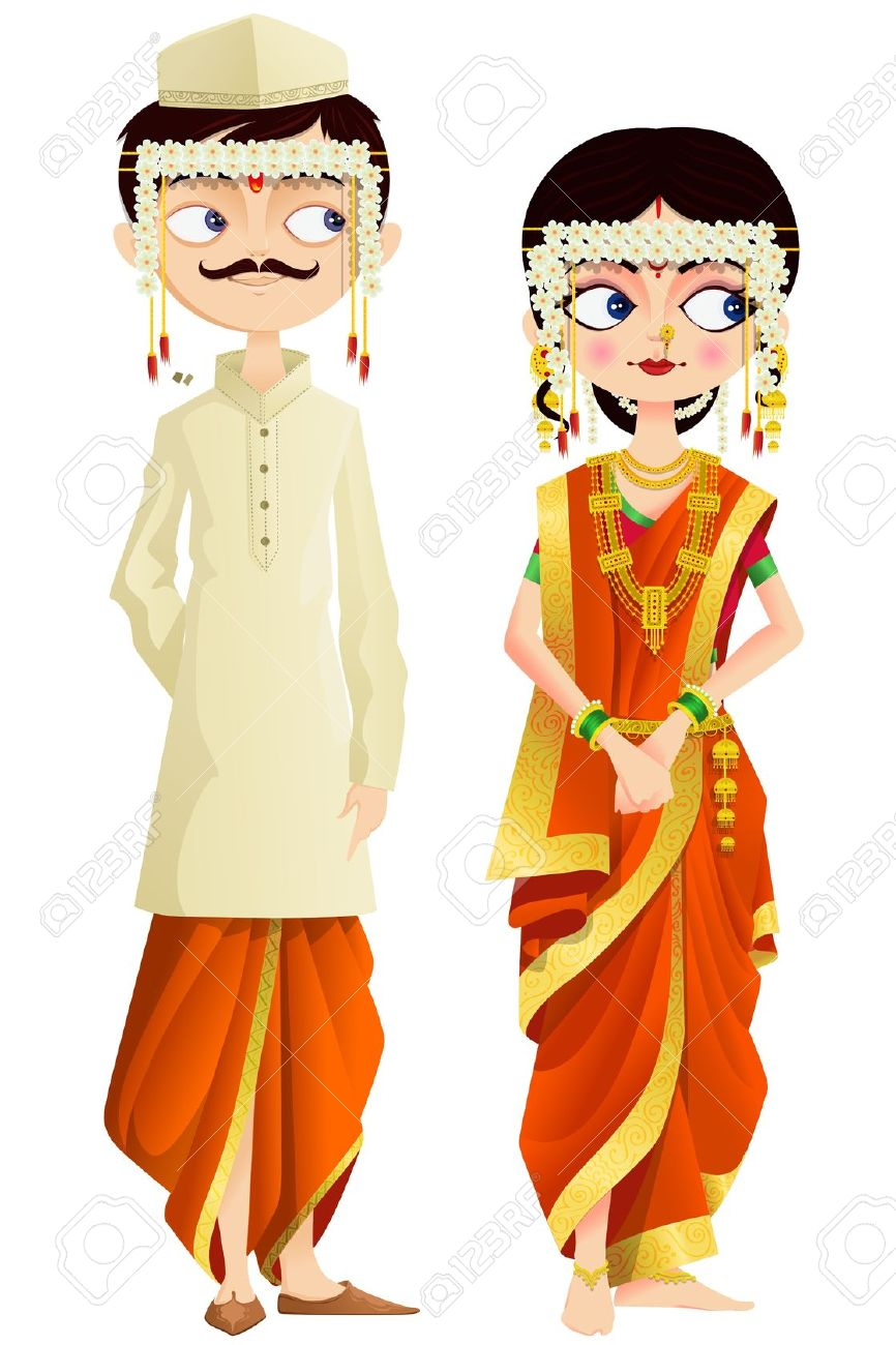 Indian traditional dress clipart image Indian dress clipart - ClipartFest image
