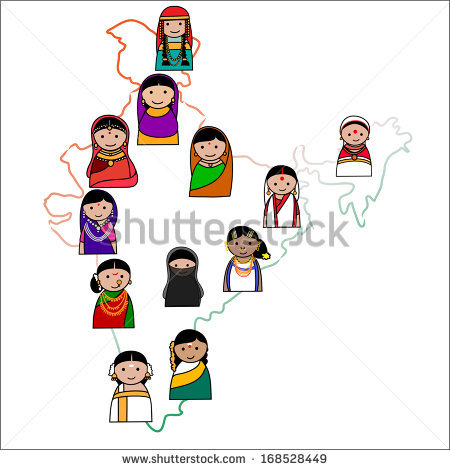 Indian traditional dress clipart image freeuse stock Indian Character Stock Photos, Royalty-Free Images & Vectors ... image freeuse stock