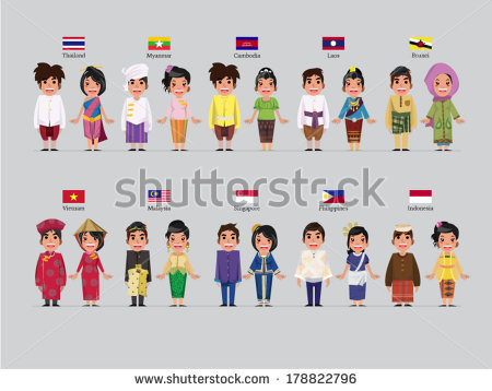 Indian traditional dress clipart vector free library Traditional Dress Stock Images, Royalty-Free Images & Vectors ... vector free library