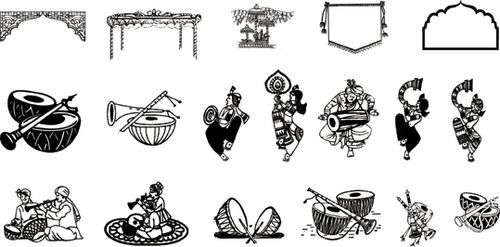 Indian wedding border clipart clip freeuse library Lord Ganesha Clipart For Wedding Card   Indian Wedding Border ... clip freeuse library