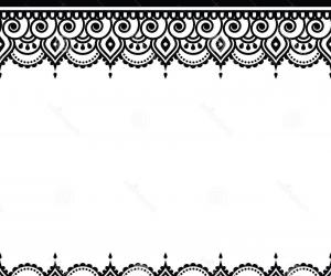 Indian wedding border clipart vector library download Hindu Wedding Border Clipart vector library download