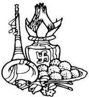 Indian wedding symbols clipart svg black and white stock 11+ Indian Wedding Clipart | ClipartLook svg black and white stock