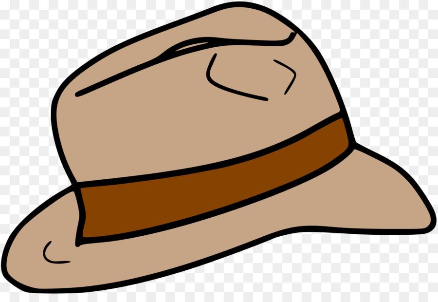 Indiana jones hat clipart banner free download Hat Cartoon clipart - Hat, Cap, transparent clip art banner free download
